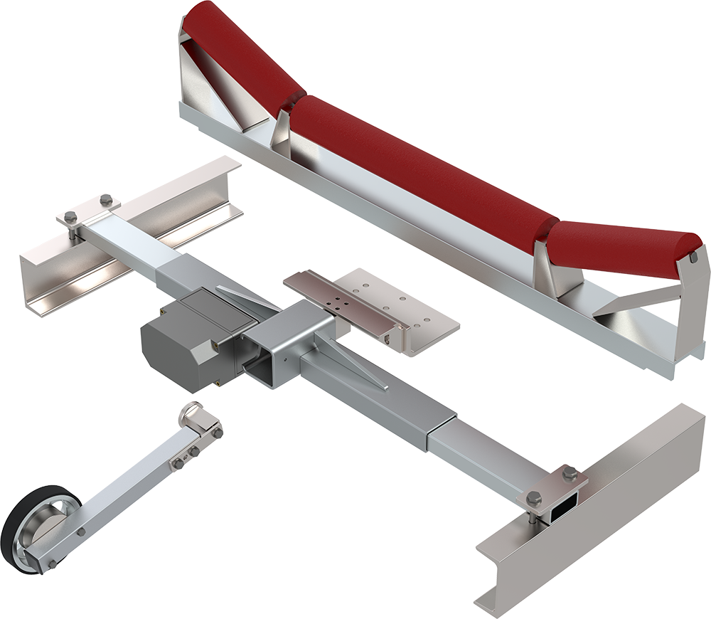 WÖHWA Belt Scale SFB22 with one Single Point Load Cell