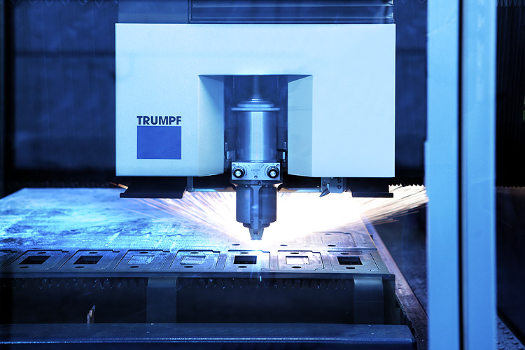 Modern sheet metal laser cutting